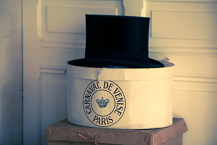 Top Hat and Box